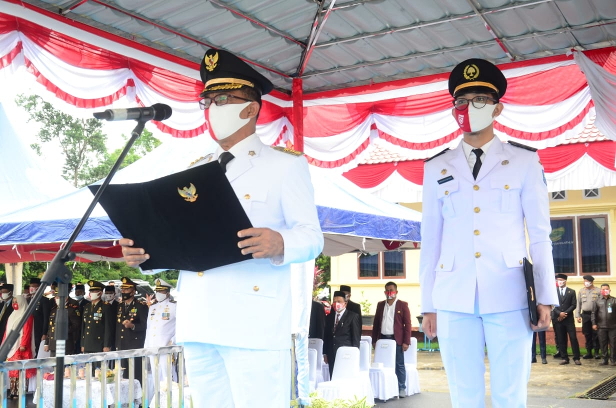 Lingga Gelar Upacara Hut Ri 75 Secara Terbatas Kabupaten Lingga